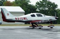 N910ML @ I19 - 2008 Cessna LC41-550FG - by Allen M. Schultheiss