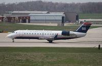N242JS @ CVG - US Airways CRJ-200