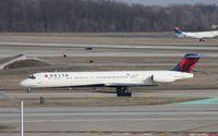 N934DL @ DTW - Delta MD-88 - by Florida Metal