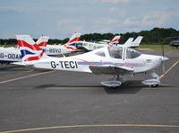 G-TECI @ EGTB - Tecnam P2002-JF at Wycombe Air Park - by moxy
