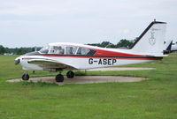 G-ASEP @ EGLD - Nice 1963 Apache at Denham. - by moxy