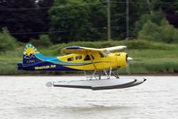 C-FSKZ @ YVR - Departure from the Fraser River - by metricbolt