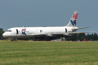 9G-MKA @ EGMH - Douglas DC8-55F(JT), c/n: 45804 WFU at Kent International