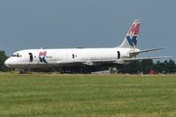 9G-MKA @ EGMH - Douglas DC8-55F(JT), c/n: 45804 WFU at Kent International