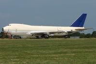 TF-AMC @ EGMH - 1979 Boeing 747-2B3F/SCD, c/n: 21835/388 WFU at Kent International