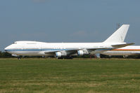 N309TD @ EGMH - Boeing 747-269B, c/n: 22740 WFU at Kent International