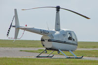G-BZLP @ EGMH - 2000 Robinson R44 Raven, c/n: 0814 at Kent International