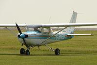G-BHED @ EGMH - 1979 Reims Aviation Sa REIMS CESSNA FA152, c/n: 0359 at Kent International