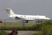 N794ME @ EGMH - Gulfstream Aerospace G-1159A, c/n: 483 at Kent International during 2011 British Golf Open week