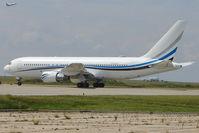 N767MW @ EGMH - Boeing 767-277, c/n: 22694 bringing in VIPS for the 2011 British Open Golf