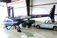 N440SH @ LNC - In the Cold War Air Museum hanger at Lancaster Municipal Airport