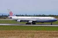 B-18807 @ VIE - China Airlines