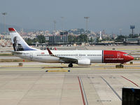 LN-NOT @ BCN - depart from Barcelona Airport - by Willem Goebel