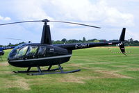 G-OHLI @ EGBT - being used for ferrying race fans to the British F1 Grand Prix at Silverstone - by Chris Hall