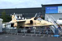 A41 @ LFPB - SEPECAT Jagurar A at the Aerosalon Paris/Le-Bourget 2011 - by Ingo Warnecke