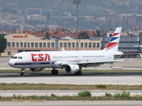 OK-CEC @ LEBL - Arrival on Barcelona Airport - by Willem Goebel