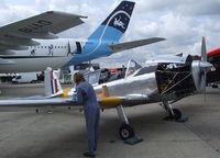 F-AZUU @ LFPB - DeHavilland Canada DHC-1 Chipmunk 22 at the Aerosalon Paris/Le-Bourget 2011