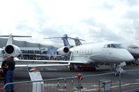 N305CL @ LFPB - Bombardier BD-100-1A10 Challenger 300 at the Aerosalon Paris/Le-Bourget 2011