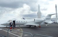 N383LJ @ LFPB - Learjet 60 XR at the Aerosalon Paris/Le-Bourget 2011