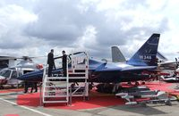 CMX615 @ LFPB - Alenia (Aermacchi) M-346 Master at the Aerosalon Paris/Le-Bourget 2011 - by Ingo Warnecke
