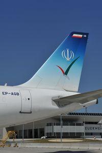 EP-AGB @ LOWW - Meraj Air Airbus A321 - by Dietmar Schreiber - VAP