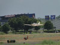 N7181P @ POC - On final for runway 26R - by Helicopterfriend