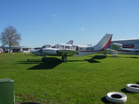 ZK-WIW @ NZAR - Awaiting sale at Ardmore Airport, Auckland - by magnaman