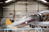 L8032 - The Shuttleworth Collection's Gladiator as seen at Old Warden in the Summer of 1976. - by Peter Nicholson
