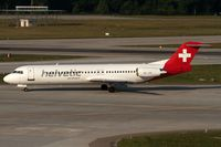 HB-JVE @ LSZH - taxying to the gate - by Friedrich Becker
