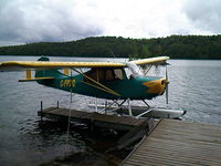 C-FPZQ - champion 90HP on PK 1500 floats - by Francois Belanger