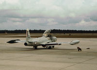 57-0760 @ PAM - T-33A Shooting Star of the Air Defence Weapons Centre at Tyndall AFB in November 1979. - by Peter Nicholson