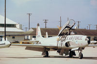 58-0591 @ PAM - T-33A Shooting Star of the 95th Fighter Interceptor Training Squadron at Tyndall AFB in November 1979. - by Peter Nicholson