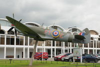 MH486 @ RAFM - BAPC.206 Gate Guardian at the RAF Museum, Hendon, London. - by Eric.Fishwick