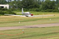 N3476 @ 42I - Low fly-over during the EAA fly-in at Zanesville, Ohio