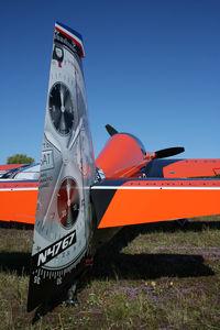 N4767 @ LFGI - Beautiful aircraft and fantastic Nicolas! - by ThierryBEYL