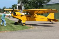 N6234H @ 42I - EAA fly-in at Zanesville, Ohio - by Bob Simmermon