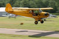 N6234H @ 42I - Low pass at the EAA fly-in at Zanesville, Ohio - by Bob Simmermon