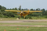 N6234H @ 42I - Another low pass during the EAA fly-in at Zanesville, Ohio - by Bob Simmermon