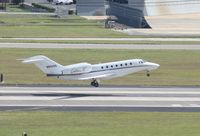 N931QS @ TPA - Net Jets Citation X