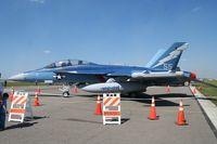 166899 @ LAL - EA-18G in Centenial colors