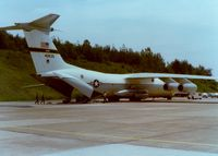 64-0635 @ SWF - 1964 Lockheed C-141 Starlifter C/N 64-0635 at Stewart International Airport, Newburgh, NY - circa 1970's - by scotch-canadian