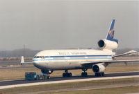 B-150 @ EHAM - Mandarin Airlines - by Henk Geerlings