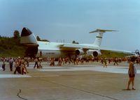 69-0008 @ SWF - C-5A Galaxy SN: 9008 at Stewart International Airport, Newburgh, NY - circa 1970's - by scotch-canadian