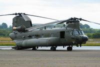ZH901 @ EGFH - Chinook of 18 Squadron RAF on a brief visit to the airport. - by Roger Winser