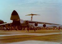 69-0008 @ SWF - 1969 Lockheed C-5A Galaxy at Stewart International Airport, Newburgh, NY - circa 1970's - by scotch-canadian