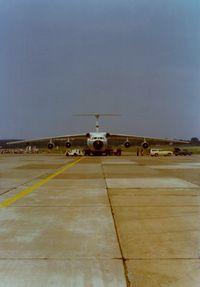 64-0635 @ KSWF - Lockheed C-141A Starlifter SN: 64-0635 at Stewart International Airport, Newburgh, NY - circa 1970's - by scotch-canadian