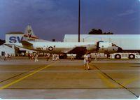 158914 @ SWF - Lockheed P-3C Orion SN: 158914 at Stewart International Airport, Newburgh, NY - circa 1970's - by scotch-canadian