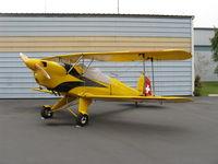 N104M @ SZP - 1992 Galpin Bucker Jungmann AERO Z 131, Lycoming IO-360-A&C 200 Hp - by Doug Robertson