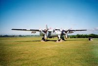 12131 @ CYSU - Canadian Armed Forces de Havilland Canada CP-121 Tracker SN: 12131 on display at Slemon Park, Summerside Airport, Summerside, Prince Edward Island, Canada - Summer 2002 - by scotch-canadian