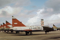 56-1278 @ PAM - PQM-102B Delta Dagger of the Air Defence Weapons Centre at Tyndall AFB in November 1979. - by Peter Nicholson